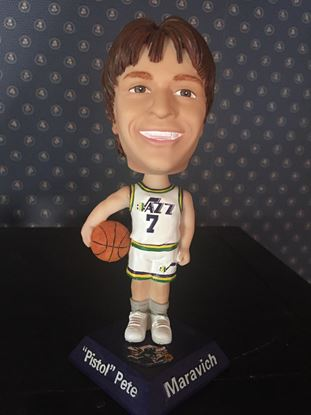 "Picture of Pistol Pete Bobble Head 8"" tall"